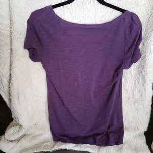Halogen Tops - Purple t-shirt